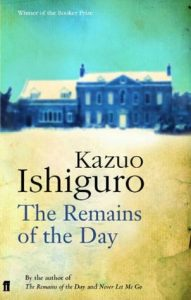 Kazou Ishiguro book