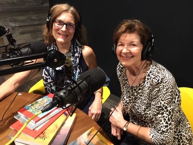 Dr. Sara Rose and I recording!